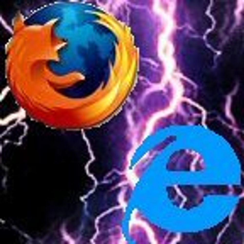 Internet Explorer 7 kan øke bruken av Firefox