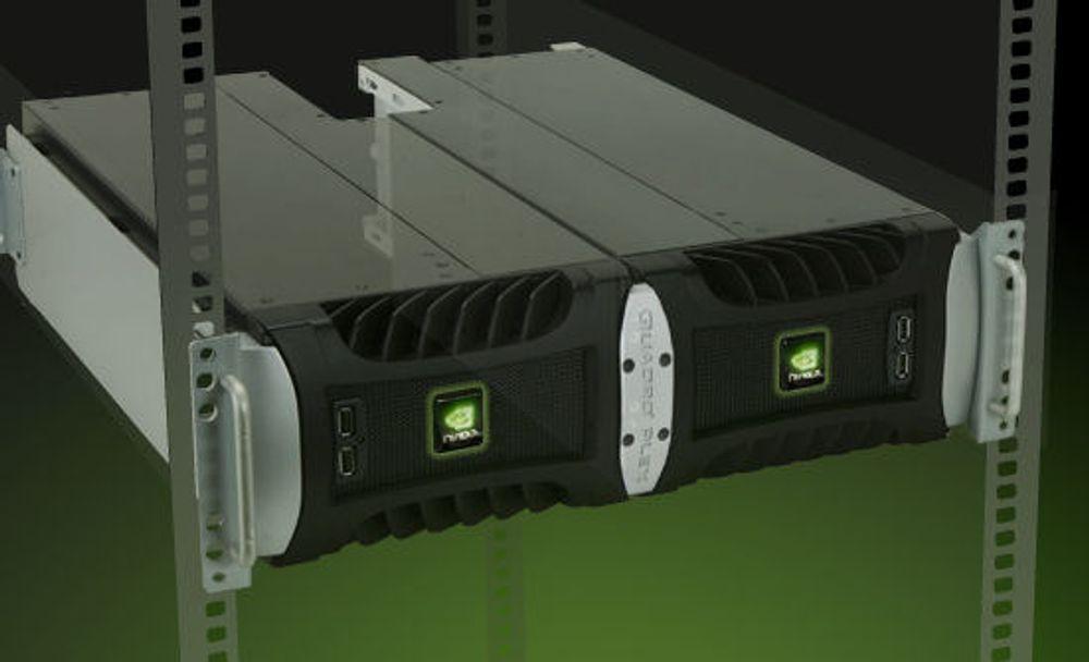 Superkraftig grafikk-klynge fra Nvidia