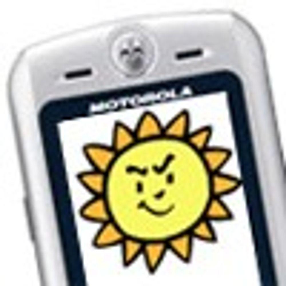 Motorola fikk patent på smart sol-ide