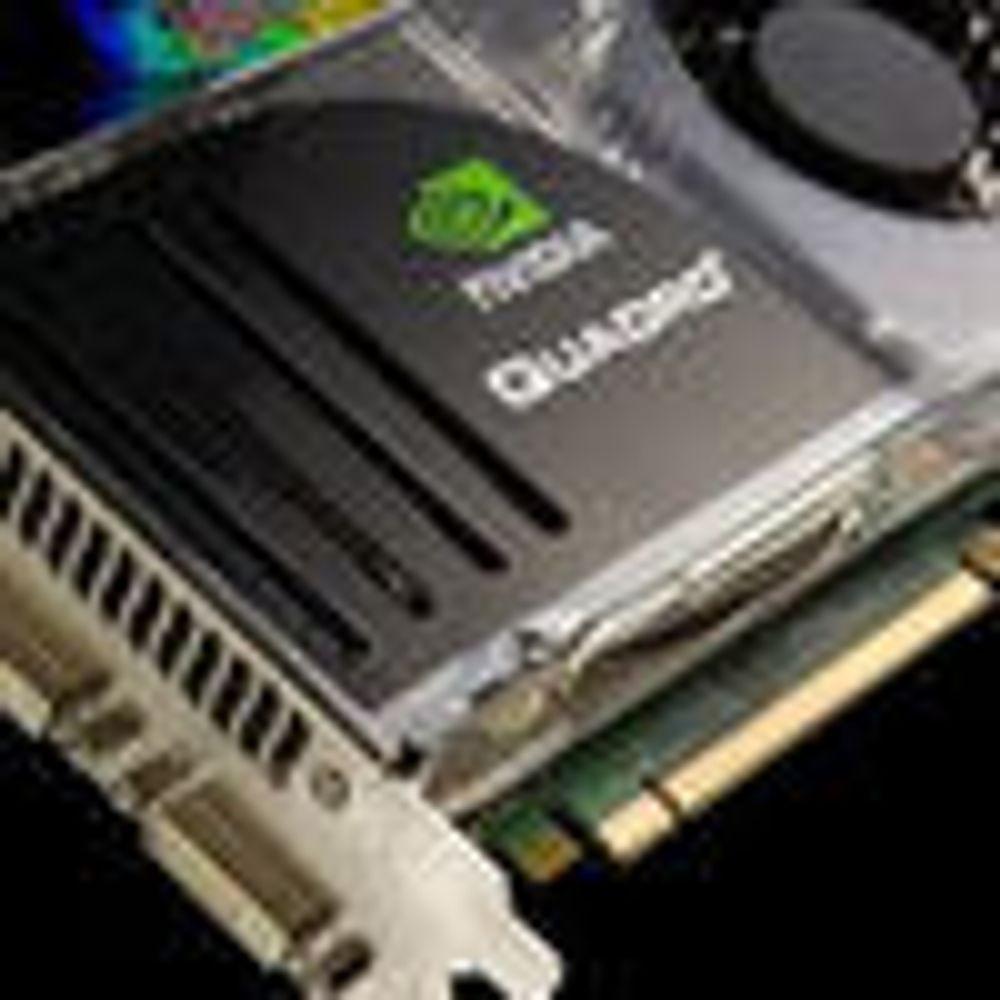 Kraftig oppgradering av Nvidias Quadro-brikker