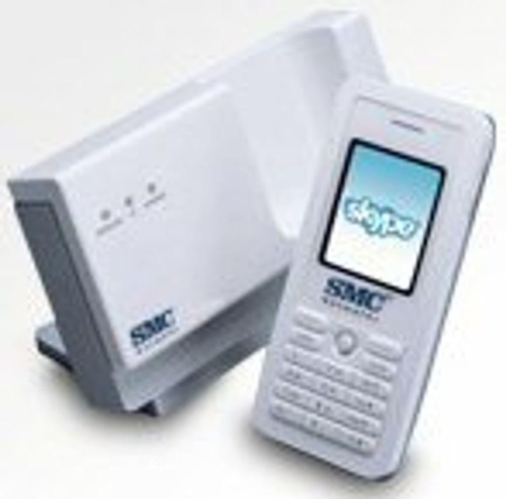 Vinn en Skype-telefon med WLAN aksesspunkt