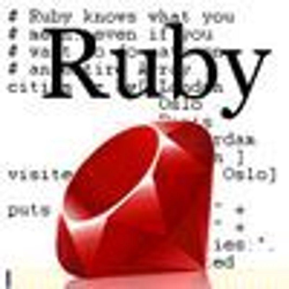 Microsoft svært interessert i Ruby