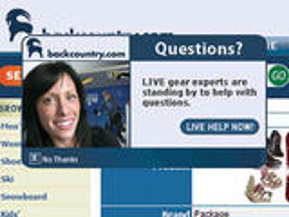 Nettbutikker vil chatte med kundene sine