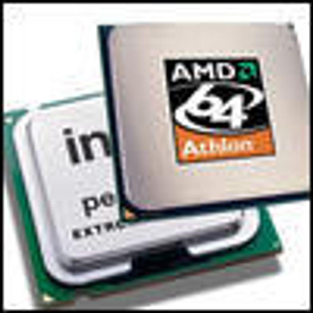 Stadig flere servere bruker AMD-brikker