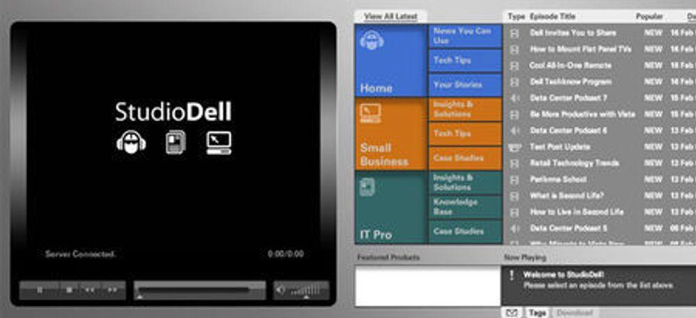 Dell tar i bruk triksene til Digg og Youtube
