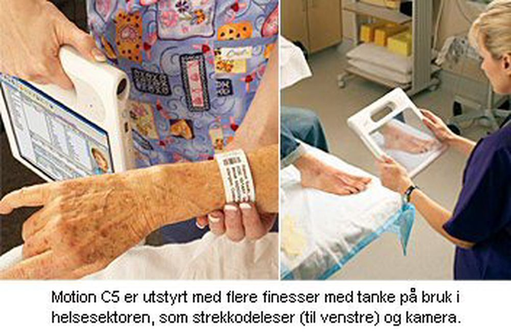Ny Tablet PC spesielt for helsesektoren