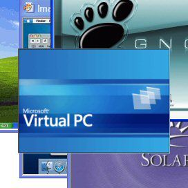 Første Virtual PC for Windows Vista