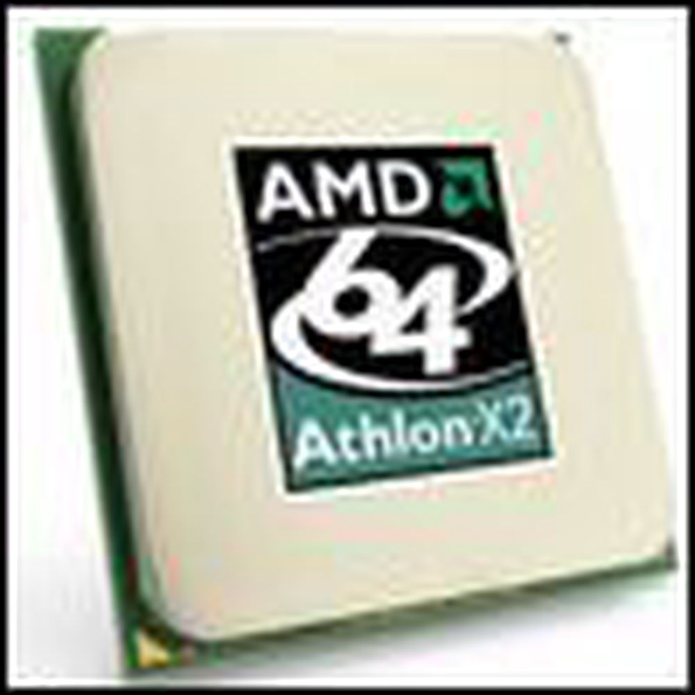 AMD lanserte raskere Athlon 64 X2