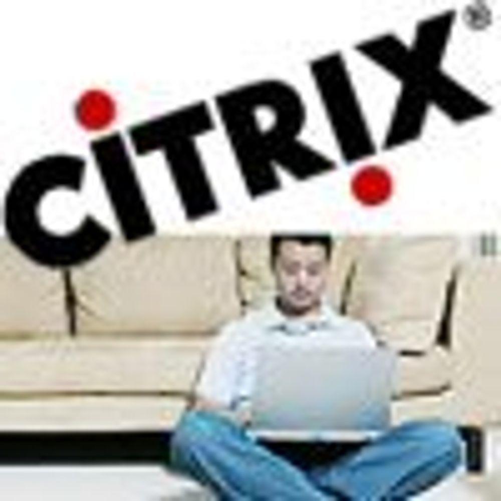 Citrix-styrte bærbare kan brukes offline