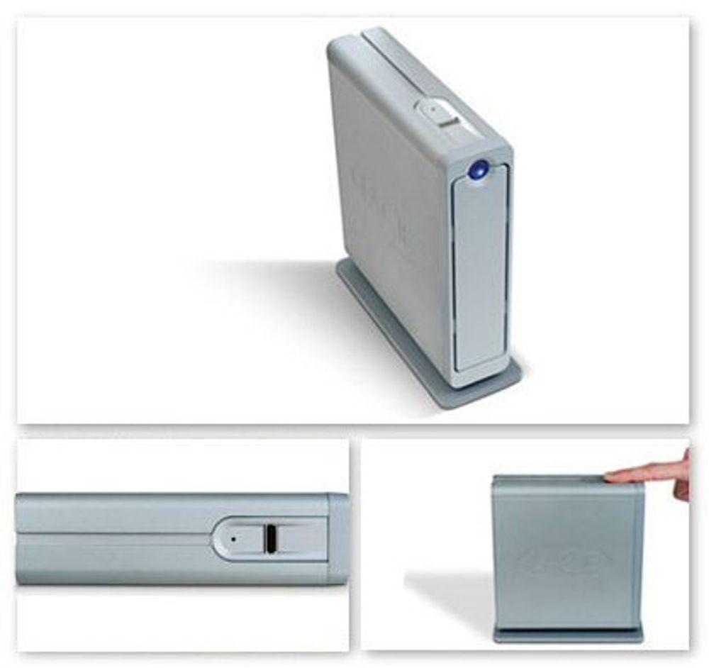 Vinn 500 GB USB-disk med kryptering