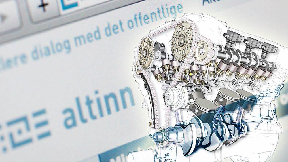 Altinn-plattformen må moderniseres og «åpnes» opp i reell forstand, skriver Haraldsen.