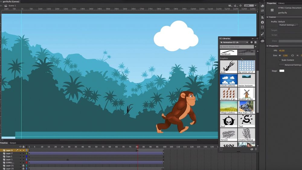 Adobe Animate CC er det nye navnet på Flash Professional-verktøyet.
