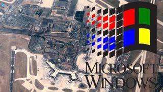 Flyplass ble rammet av Windows 3.1-problemer