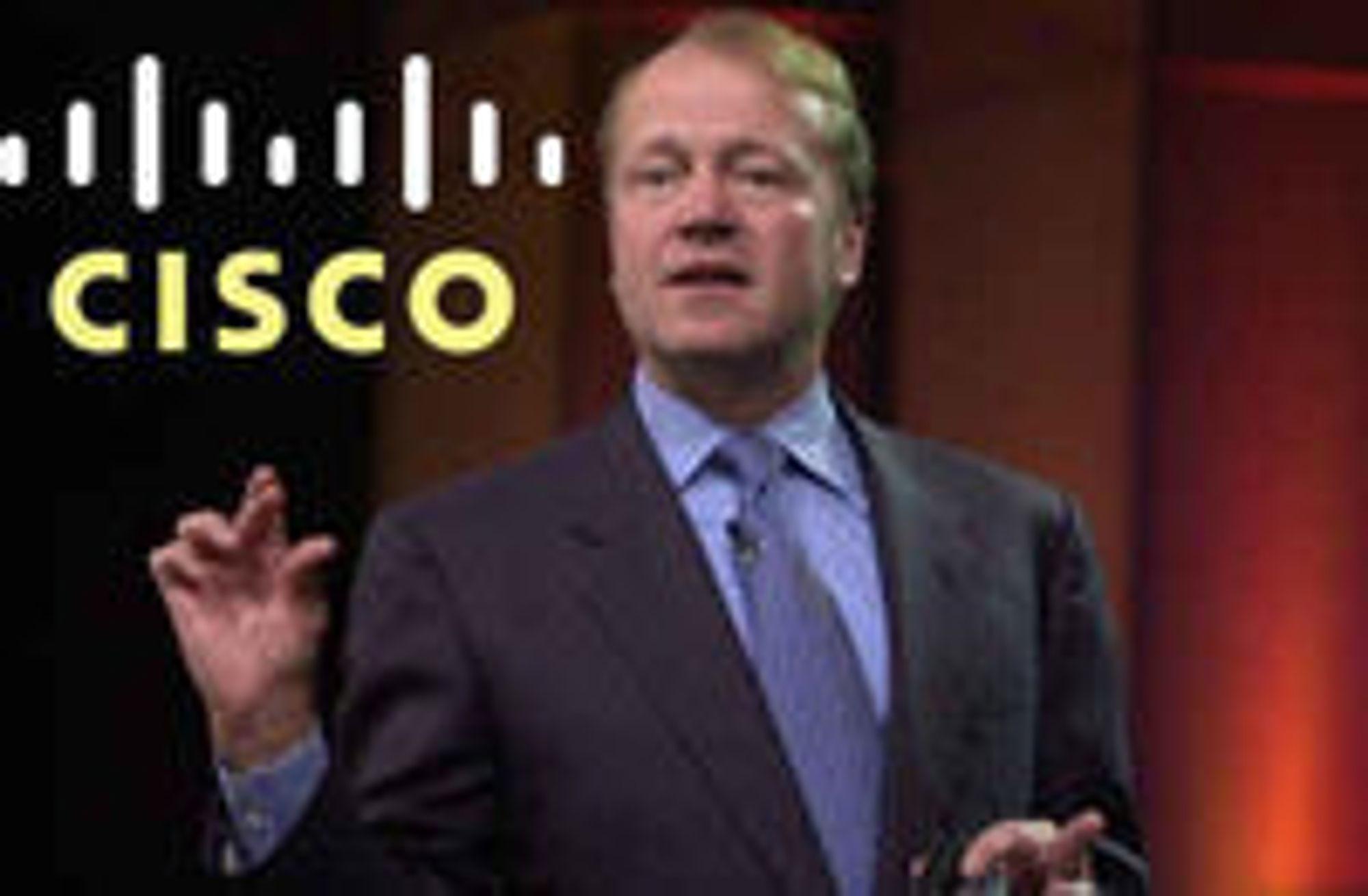 Cisco-sjef John Chambers har innsett at nedbemanning og omorganisering er nødvendig, også for en suksessbedrift gjennom mange år.