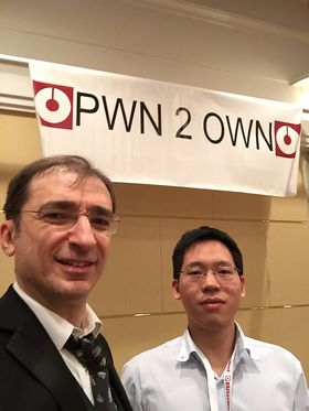 Pwn2Own-vinner november 2015.