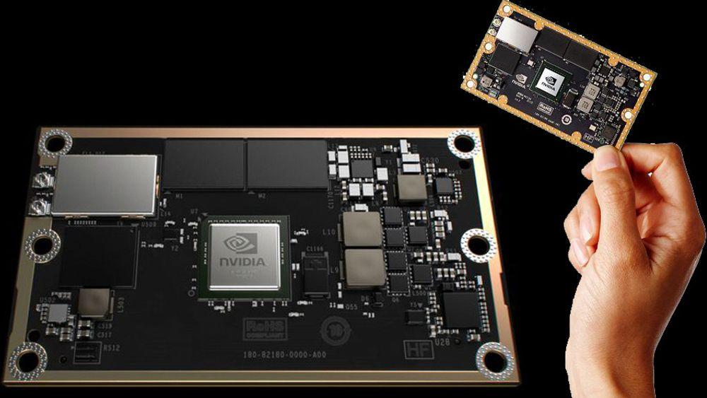 Nvidia Jetson TX1 er en integrert datamaskin som er spesielt beregnet for maskinlæring.