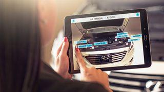Supplerer bilhåndboka med utvidet virkelighet