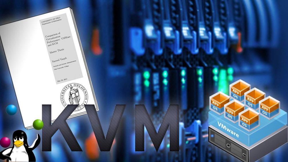 Masteroppgaven «Comparison of Virtualization Performance: VMWare and KVM» har slått alle trafikkrekorder.