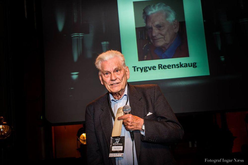 Trygve Reenskaug fikk endelig en Rosing-hederspris (han har vært nominert i andre kategorier i tidligere år) for sin mangeårige forskning innen objektorienterte metoder. Mest kjent er han for model-view-controller, men også rollemodelleringsmetoden OOram.