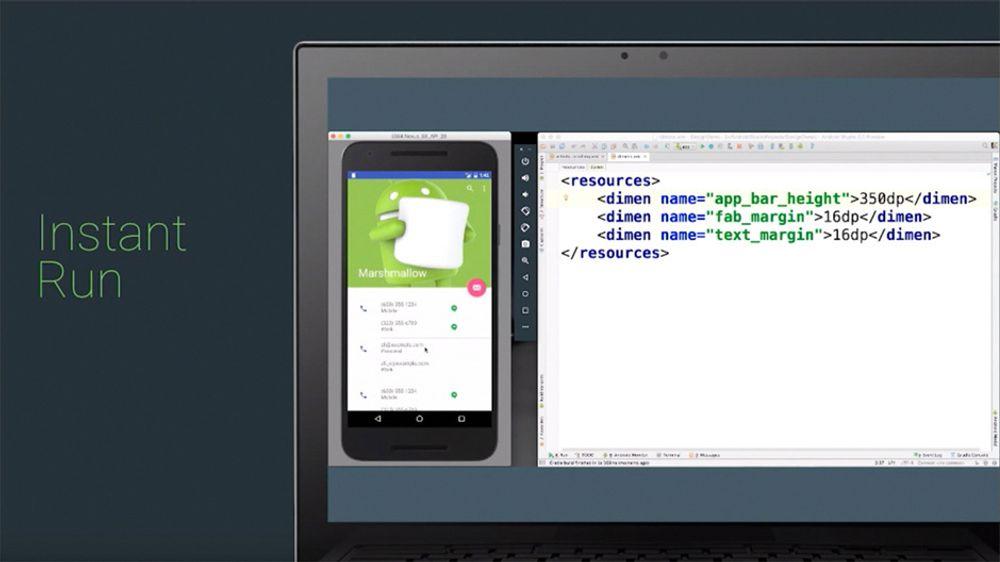 Instant Run i Android Studio 2.0 skal kunne bidrar til øke produktiviteten til apputviklere. Den støttes av Android-utgaver tilbake til 4.0.