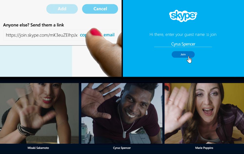Nå blir det mulig å skype uten å ha Skype. Muligheten rulles først ut til amerikanske og britiske brukere, og til resten av verden snart.