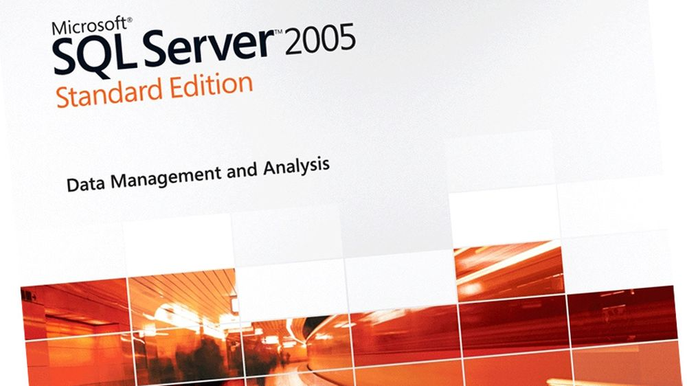 Microsoft SQL Server 2005 Standard Edition