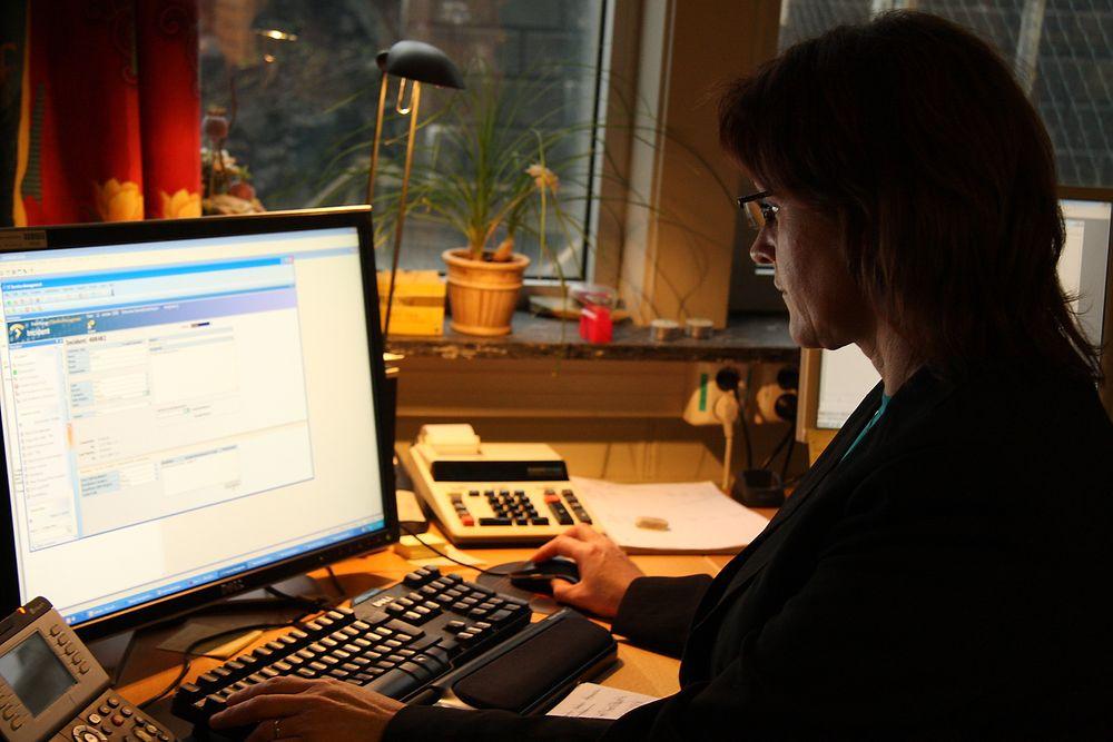 Saksbehandlingsløsningene ved Brønnøysundregistrene skal få et nødvendig løft. Illustrasjonsbilde fra virksomheten.