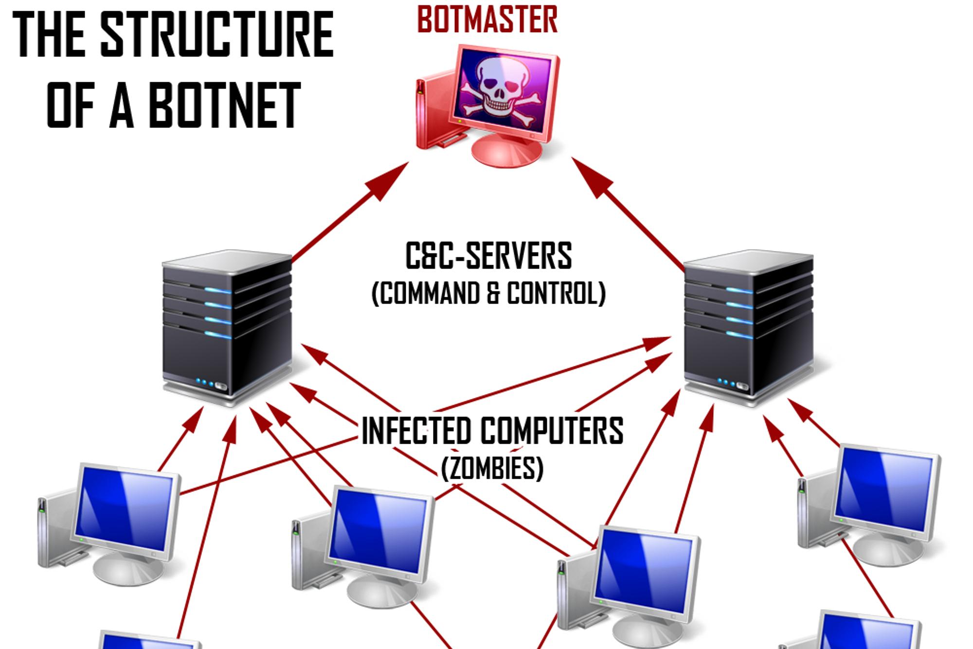 Belorossov skal ha kontrollert et såkalt botnett bestående av rundt syv tusen infiserte datamaskiner.