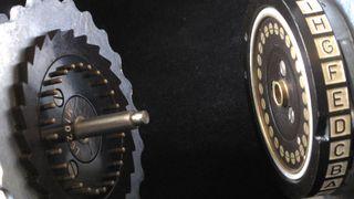 Rotorer fra Enigma-maskinen