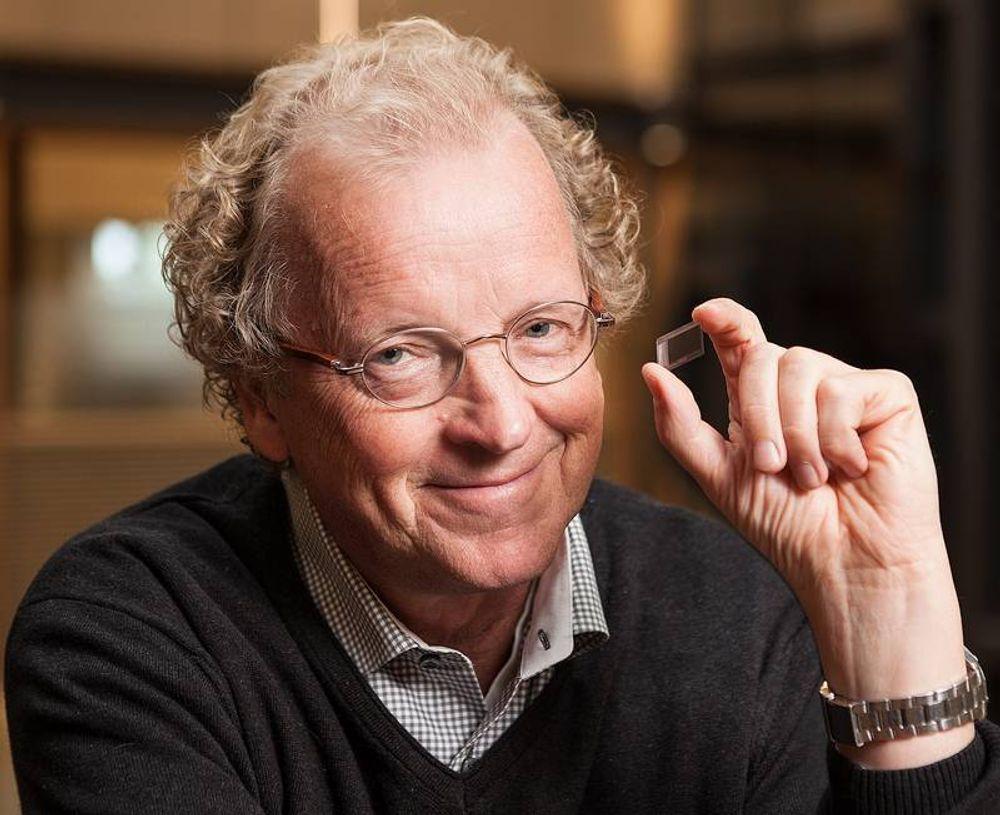 Administrerende direktør Tore Etholm-Idsøe i Next Biometrics.