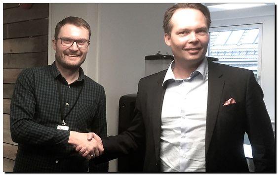 Ståle Myhre, Statoil Tecnology Invest, STI (t.v.)