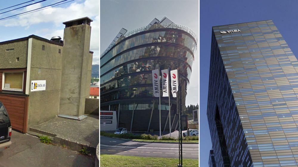 Det vesle programvareselskapet i Laksevåg har røket uklar med sin tidligere samarbeidspartner. Nå krever de over en halv milliard fra Visma, som er et av Nordens største IT-selskaper.
