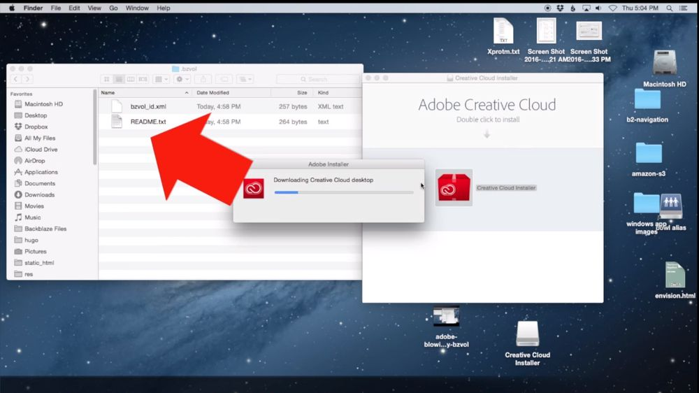 Ved installasjon av den forrige oppdateringen til Adobe Creative Cloud, blir det slettet filer i en relativt vilkårlig mappe i OS X. Hvilke konsekvenser dette kan få, avhenger av hvilken mappe som er den alfabetisk første i rotmappen.