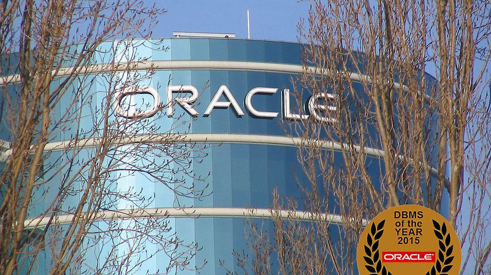 Oracle er utpekt som verdens mest populære datasystem i 2015.