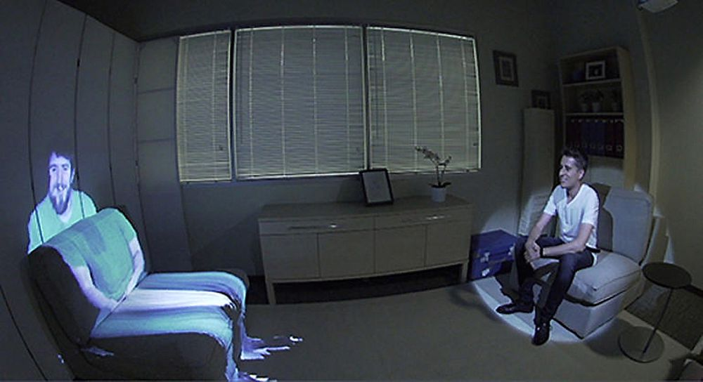 Videosamtaler kan bli noe helt annet dersom man oppfatter det som at samtalepartneren er i det samme rommet.