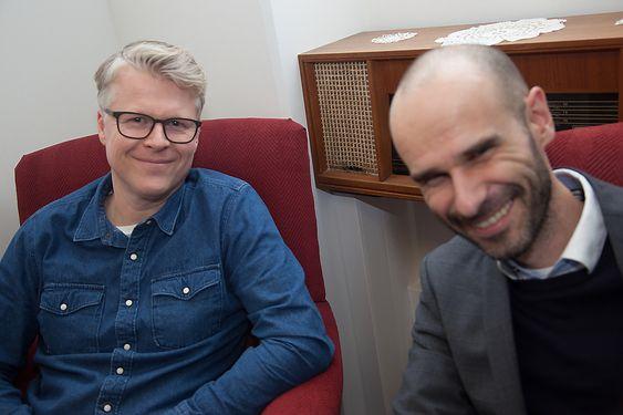Fra v. Atle Rovik er rekrutteringsansvarlig i Knowit Norge. Petter Hellevik er daglig leder i Knowit Amende.