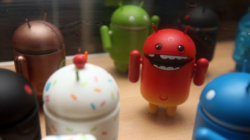 Android-figurer. Skummel. Sint.