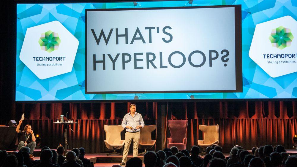 En sprø fremtidsvisjon, eller en nærstående realitet? Sjefen i Hyperloop Transportation Technologies besøkte Trondheim for å fortelle.