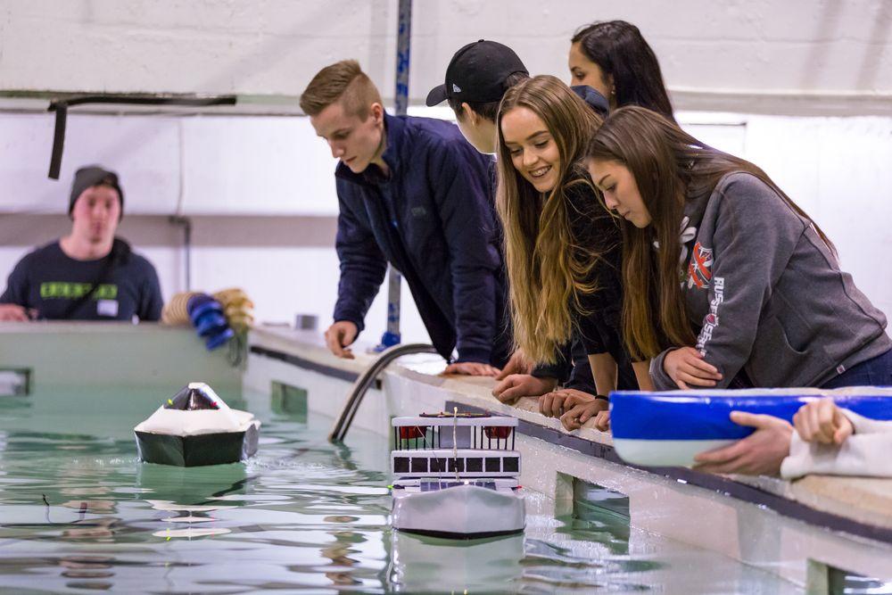 Oslo-elever stakk av med prisen for beste skipsdesign