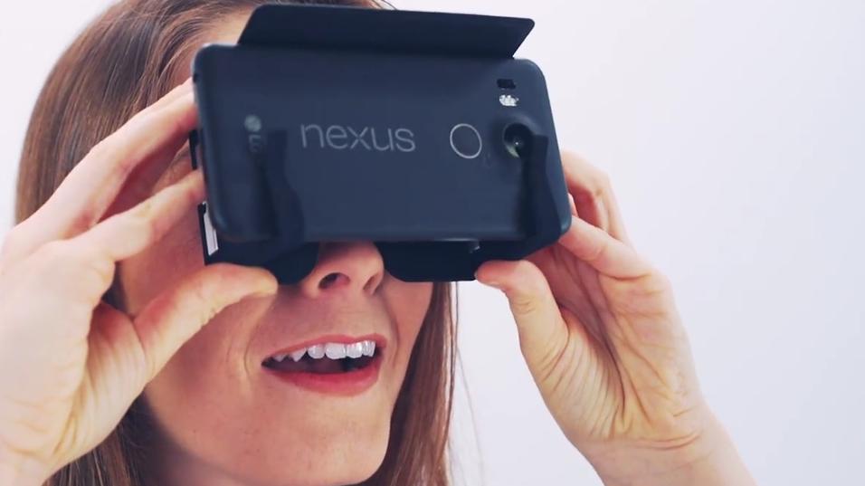 De nye VR-brillene SmartVR.