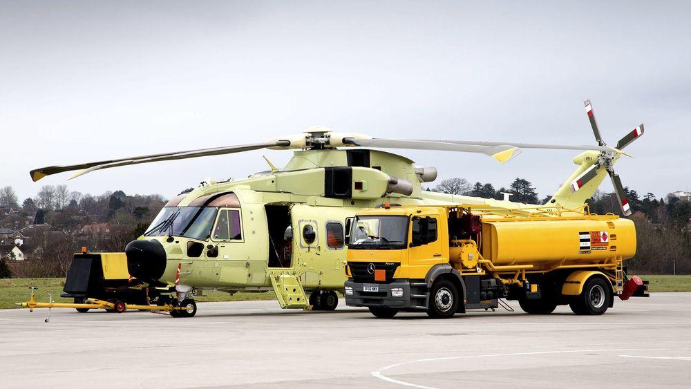 Det første norske AW101-helikopteret starter bakketesting denne uka, og skal etter planen i lufta i løpet av måneden.