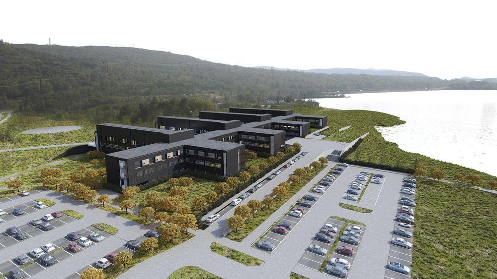 Kirkenes sykehus skal bestå av 240 prefabrikerte moduler fra Tyskland.