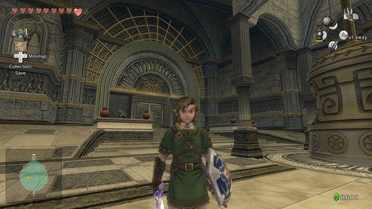Twilight Princess har de stiligste templene.