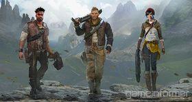 Møt de tre hovedpersonene i Gears of War 4.