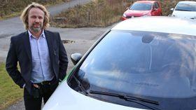 Jan Haugen Ihle, leder i Fortum Charge & Drive.
