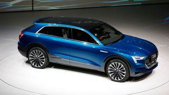 Audi Q6 E-tron vil støtte lading med inntil 150 kilowatt.