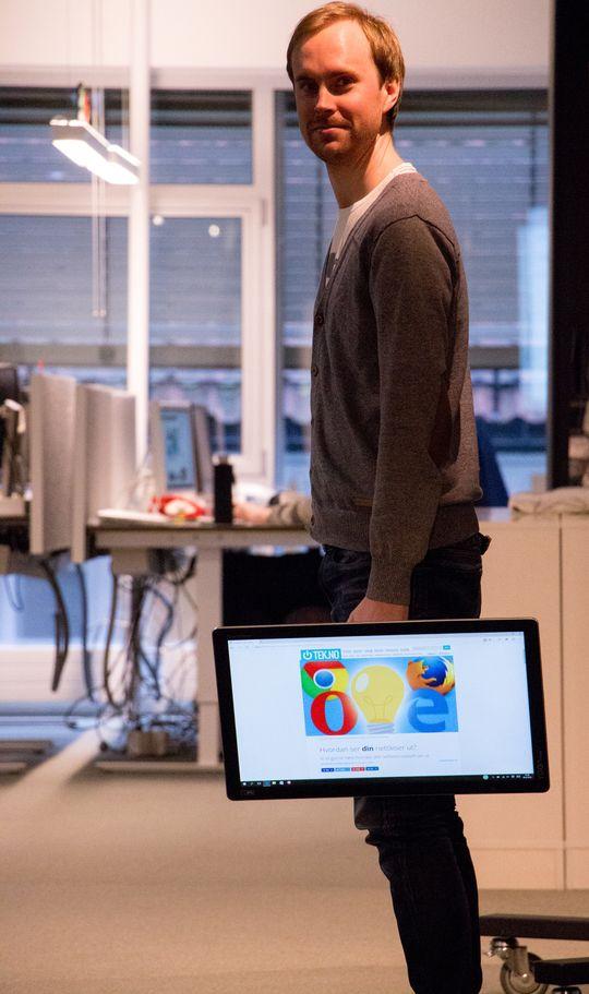 Det føltes sjelden naturlig å bruke Yoga Home 500 fremfor en skikkelig stasjonær PC eller et nettbrett.