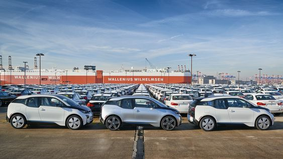 BMW leverte 29 513 i3 i 2015.