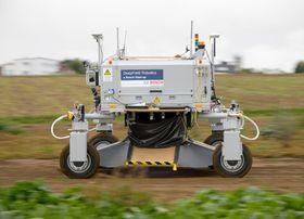 Bedre gårdsdrift: Kreative forskere kan bruke den nye IoT-plattformen for å utvikle jordbruksroboter som denne fra Deepfield Robotics.