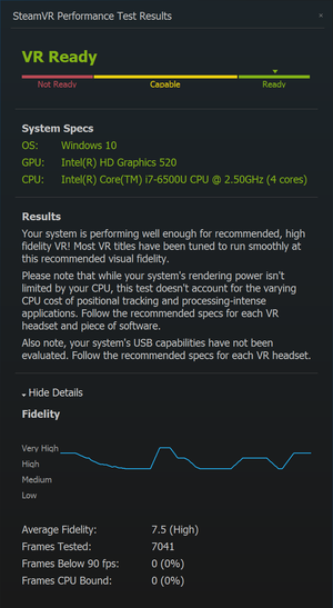 Vips. Med en XConnect-sertifisert grafikkløsning ble den tynne men svake ultrabærbare klar for VR-spill i en fart!